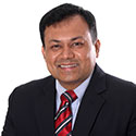 Dr Ashish Shah, GP Governing Body Member, Welwyn and Hatfield